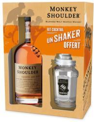 Monkey Shoulder Shaker Pack Whiskey 0,7L 40%
