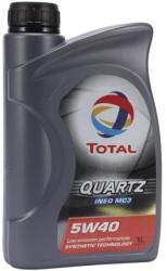 Total 5w40 Quartz Ineo Mc3 1L