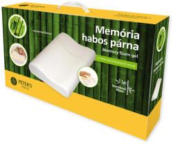 Peter's Textil Memória habos párna bambuszos huzatban