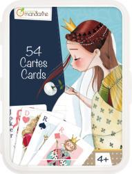 Avenue Mandarine Francia kártya 54 lap