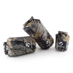 Yukatana Treckset Camo vízálló hátizsák szett, 3 darab, 5/15/20 l, terepminta - electronic-star