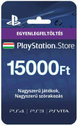 Sony PlayStation Network Card - 15000 HUF