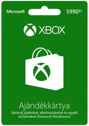 Microsoft Xbox Live Card 5990 HUF