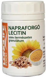 Longlife Napraforgó lecitin granulátum - 100g