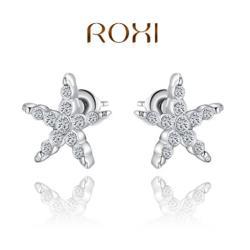 ROXI Csillag Fülbevaló 18 Karátos Arany Bevonattal