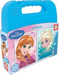 Educa Disney Jégvarázs puzzle táskában 2x20 db-os (16511)