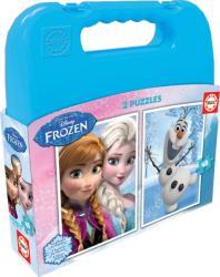 Educa Disney Jégvarázs puzzle táskában 2x48 db-os (16514)