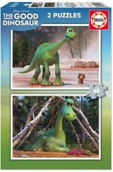 Educa Disney Dínó tesó puzzle, 2x48 darabos (E15930)