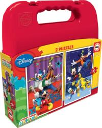 Educa Disney Mickey Mouse Clubhouse puzzle táskában, 2x20 darabos (E16510)