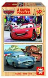 Educa Disney Verdák 2 fa puzzle, 2x50 darabos (E14936)