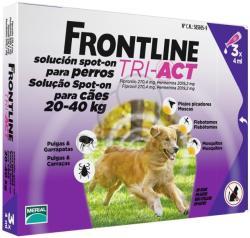Frontline Tri-Act spot on pentru câini între 20-40 kg