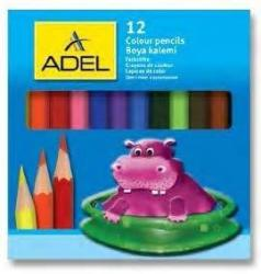 ADEL Creioane colorate 1/2, 12 buc/set, ADEL (AD2112325)