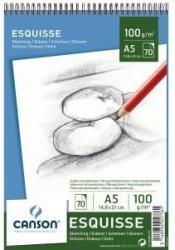 CANSON Bloc de desen Esquisse, A5, 100 g/mp, 70 file, CANSON (005776)