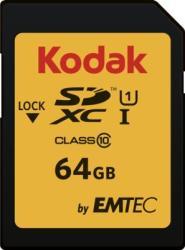 Kodak SDXC 64GB Class 10 EKMSD64GXC10K