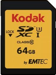 Kodak SDXC 64GB Class 10 EKMSD64GXC10HPRK