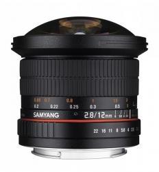 Samyang 12mm F/2.8 ED AS NCS Fish-Eye (Olympus M)
