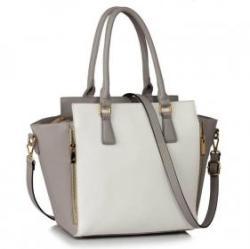 LeeSun Fehér, szürke női táska - Dasha