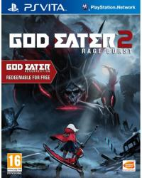 Namco Bandai God Eater Resurrection + God Eater 2 Rage Burst (PS Vita)