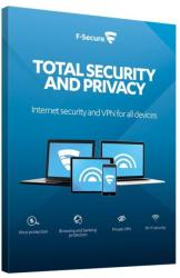 F-Secure Total Security and Privacy (3 User, 2 Year) FCFTBR2N003G1