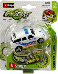 Bburago Go Gears hátrahúzós kisautók - fehér mentőautó
