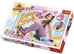 Trefl Disney - Soy Luna - Görkori szerelem puzzle 160 db-os (15329)