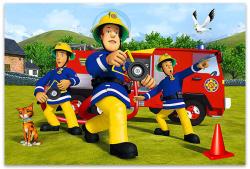 Trefl Sam, a tűzoltó maxi puzzle 24 db-os (14245)