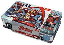 Trefl Bosszúállók fém dobozos puzzle 160 db-os (53011)
