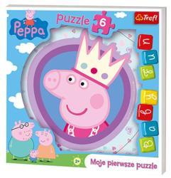 Trefl Peppa malac - Baby Fun puzzle 6 db-os