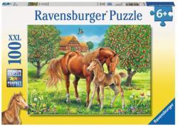 Ravensburger Lovak a mezőn XXL puzzle 100 db-os