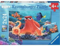 Ravensburger Szenilla nyomában puzzle 2x24 db-os