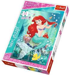 Trefl Disney Princess - A kis hableány maxi puzzle 24 db-os (14248)