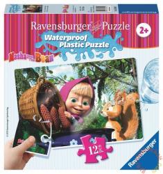 Ravensburger Mása és a medve - Mása és a mókus vízálló puzzle 12 db-os