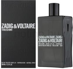Zadig & Voltaire This Is Him! EDT 100ml