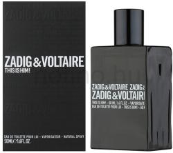 Zadig & Voltaire This Is Him! EDT 50ml