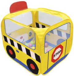 K's Kids Iskolabusz játszósátor, színes labdákkal (KA10658-GB)