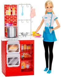 Mattel Barbie olasz konyhával (DMC369)