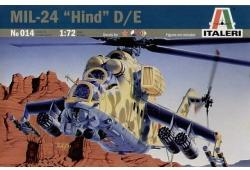Italeri Mi-24 Hind D/E 1/72 0014