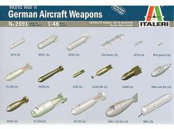 Italeri WWII German Aircraft Weapons 1/48 2691