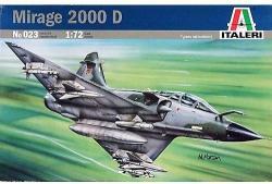 Italeri Mirage 2000D 1/72 0023
