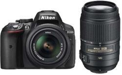 Nikon D5300 +AF-P 18-55mm VR +55-300mm VR