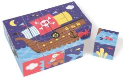 Janod KUBKID - kalózok - 12 kocka
