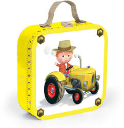 Janod Pete traktora - 4 puzzle egy dobozban (J02886)