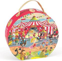 Janod Puzzle cirkusz bőröndben 54 db-os (J02874)