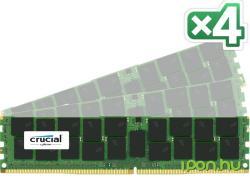 Crucial 64GB (4x16GB) DDR4 2400MHz CT4K16G4RFD424A
