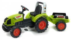 FALK Claas Arion 430 lábbal hajtós traktor utánfutóval