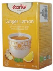 YOGI TEA Ceai Bio GHIMBIR si LAMAIE Yogi Tea