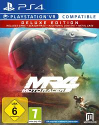 Microids MR4 Moto Racer 4 [Deluxe Edition] (PS4)