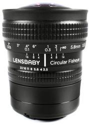 Lensbaby Circular Fisheye 5.8mm f/3.5 (Samsung)