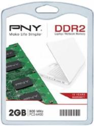 PNY 2GB DDR2 800MHz SODI102GBN/6400/2-SB