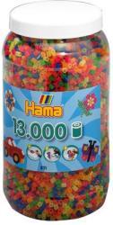 Hama Midi gyöngy 13000db-os - neon mix